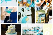 Blue Wedding Storyboard / Get inspiration for your wedding with innovative ideas.