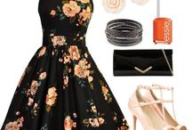 Outfits / Dresses, outfits and shoes