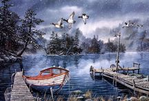 Watercolors - Boats Afloat / by Catherine Wadhams
