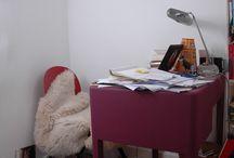 BUREAUX D'ÉCRIVAINS / C'est intéressant, selon nous, de voir à quoi ressemble le bureau d'un écrivain.