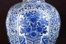 Blue Urns / Contains a collection of blue urns, from garden urns to cremation urns.