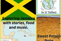 Jamaica - Recipes / Recipe Ideas from Jamaica for cooking with Kids. Around the World in 12 Dishes {December's featured Country}