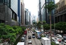 Hong Kong / Hong Kong - město ve státě.