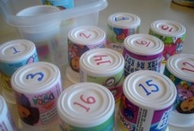 Crafts: Yoghurt cups
