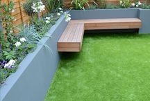 Extension garden