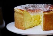 Gâteaux au fromage blanc.