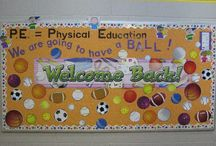 Welcome PE Bulletin Board