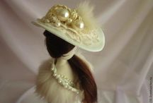 klobuk biely