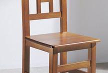 Ahşap işi projeler / sandalye