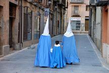Semana Santa Tarragona / Processies, puntkappen gefotografeerd tijdnes de paasweek Semama Santa in de Catalaanse provincie Tarragona en soms daarbuiten.