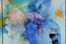 Peintre coloriste french artiste