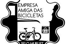"""Selo / O Selo """"Empresa/Instituição Amiga das Bicicletas"""" visa reconhecer e distinguir as empresas e instituições que oferecem condições de ciclabilidade nas suas instalações. http://selo.mubi.pt"""