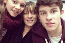 shawn's family