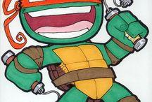 tini ninja teknőcök