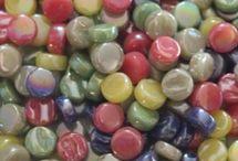 Mosaic - Mini Rounds / 8mm Mini Rounds - 4mm depth So sweet! Get them at Kismet Mosaics.