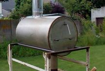 Rocket stove pizza oven