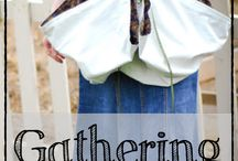 Gathering apron (for eggs or veggies)