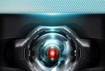 Cyborg iPhone 4 lock screen