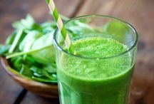Smoothies to Live by / Drink your vitamins!  A smoothie a day keeps the doctor away