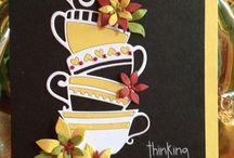 Kaffe og te kort