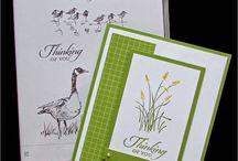 Wetlands Stamp Cards