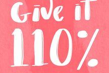 Motivation / Daily motivation