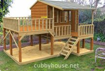 Exterior and cubby house