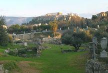 Athens Snapshots / Athens night & day city walks