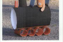 Kleuters trein