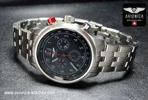 AVIONICA Quartz chronograph / Swiss Watches