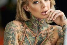 Different tattoos