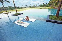 Luxurious Escapes / Activities that one can indulge into to escape from daily mundane activities and laze around till saturation points are reached.