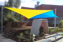 Shade Sail Ideas for Weather Protection