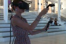 Virtual reality drawings