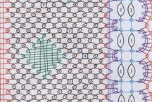 bobbins lace/koronka klockowa/kokluszki
