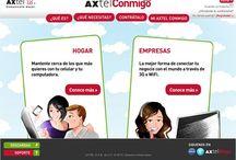 """Axtel / http://www.axtelconmigo.com.mx/ Armado del HTML Destacados del proyecto: Uso intensivo de .CSS y primer sitio que desarrollamos """"tablas less"""" (sin tablas) Desarrollado para: OgilvyInteractive, Mexico"""