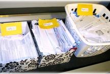 organization / by Kelly Zeigler Reineke