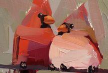 paint ptaki