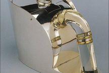Puiforcat Silver / Silber von der Silberschmiede Jean Puiforcat, Frankreich um 1925-1930.