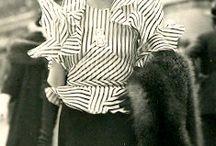 30s era - large ruffles (fashion repeats itself)