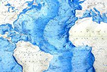 Bathymetric Maps / Maps that contain some bathymetric representation.