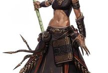 cool characters fantasy and scifi