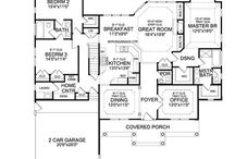 Ranch Open Floor Plans / These plans all feature ranch homes with creative open floor plans that will make you want to start knocking down walls!  Browse all of our Ranch House Plans -  http://www.thehousedesigners.com/ranch-house-plans/ / by Best-Selling House Plans
