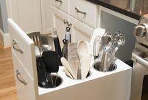 Kitchen Storage Ideas / Kitchen storage ideas to simplify life.
