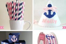 Join us for some fun, Tailor the Sailor is turning ONE! / Tailor's Nautical First Birthday Party