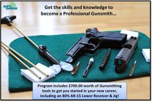Gunsmithing / Ed4Online is now proud to offer active-duty military personnel, sporting enthusiasts and firearm collectors nationwide the opportunity to participate in its new Professional Gunsmithing Program. The program will be geared toward developing the crucial skills needed for employment or entrepreneurship as a proficient gunsmith.