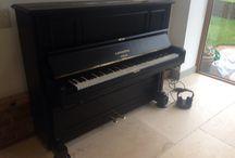 Antique Bechstein Pianos / Fully rebuilt antique pianos by Chiltern Pianos www.chilternpianos.co.uk