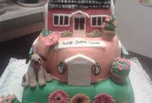 Housewarming party cake