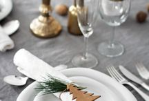 Christmas DIY projects for your home / Make your own Christmas decorations, table centre pieces, wreaths and Christmas tree decorations. Create non-expensive DIY decorations to give maximum festive magic.