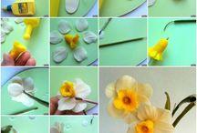 flores en ceramica
